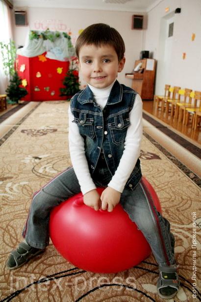 Назар Бычковский, 5 лет: