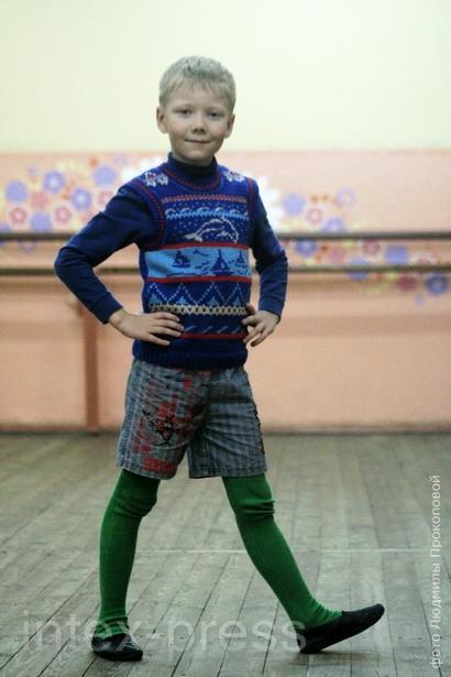 Андрей Рудой, 7 лет