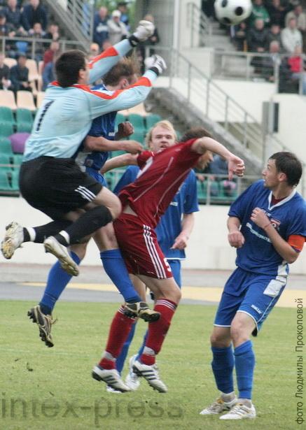 Игорь Хомляк весь сезон провел  «на  высоте»
