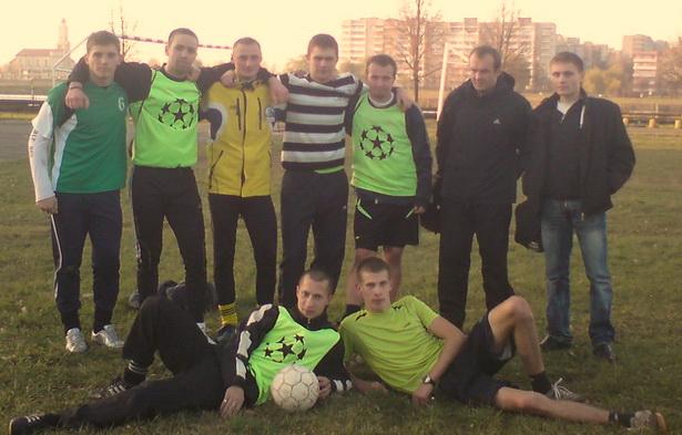 Команда «Дарья»  стала победителем первого турнира Любительской футбольной лиги г. Барановичи