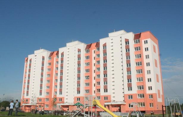 Несколько новых многоквартирных домов были сданы в 2010 году в микрорайоне Боровки-1
