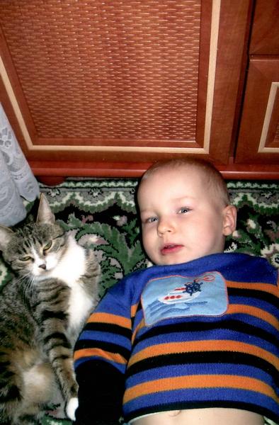 Глеб Короб и кошка Рима