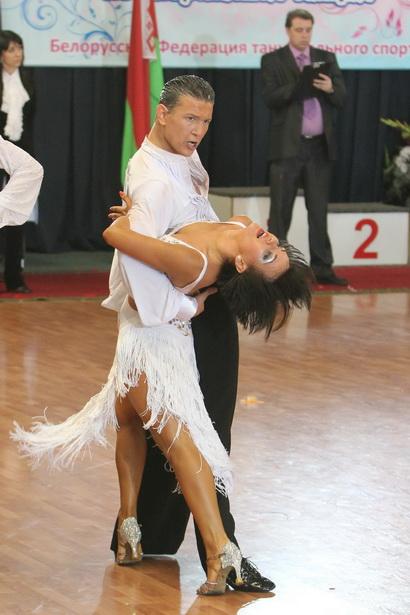 Евгений Мазейко и Ксения Коточигова стали серебряными призерами чемпионата РБ по спортивным бальным танцам