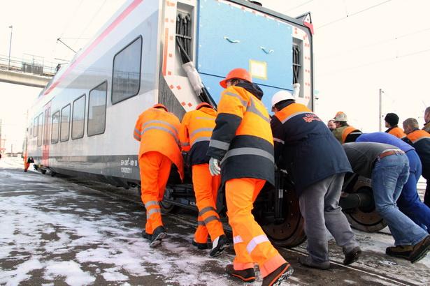 В феврале в Беларусь прибыла одна из десяти швейцарских электричек для столичного проекта «Городские линии», стоимостью почти 6 млн евро