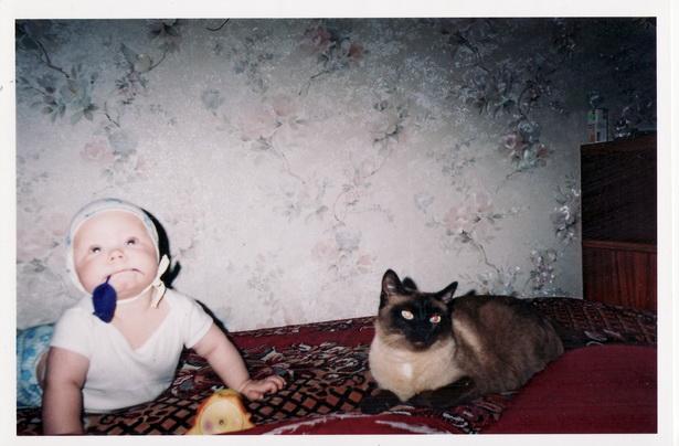 Ангелина Кулеш и кошка Масяня