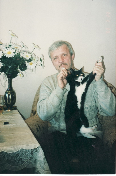 Виталий Петрович Будник и кот Лорд