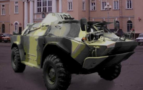 БМП, стреляющий страйкбольными шариками, можно будет увидеть только в Барановичах