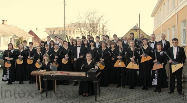 Народный оркестр русских народных инструментов Барановичского государственного музыкального колледжа