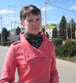 Людмила Казакова, студентка 3 курса педагогического факультета:
