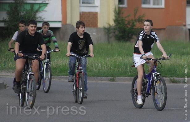 Велосипед в нашем городе становится модным увлечением