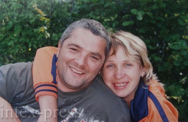 Счастливые Леонид и Алла на Немане три года назад