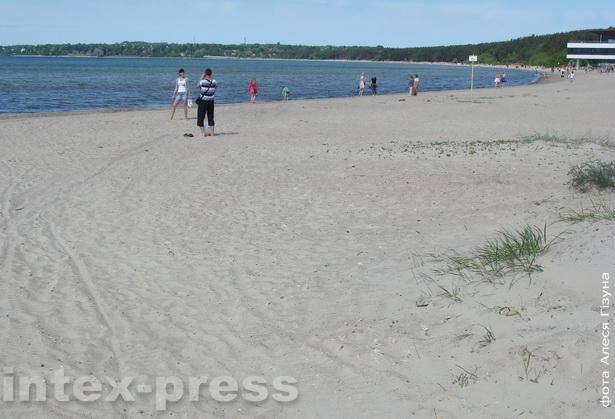 Пірыта. Пляж