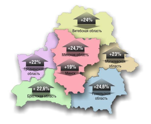 Насколько вырос спрос на товары и услуги в январе–мае 2011 г. (по сравнению с январем–маем 2010 г.)