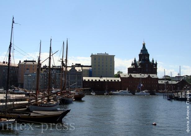 Хельсінкі. Панарама з Успенскім саборам