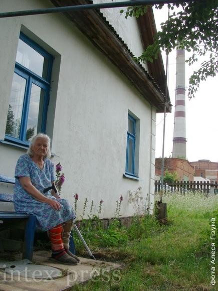 Люба Касянкова – адна з тых вяскоўцаў, якія калісьці не па сваёй волі сталі гараджанамі