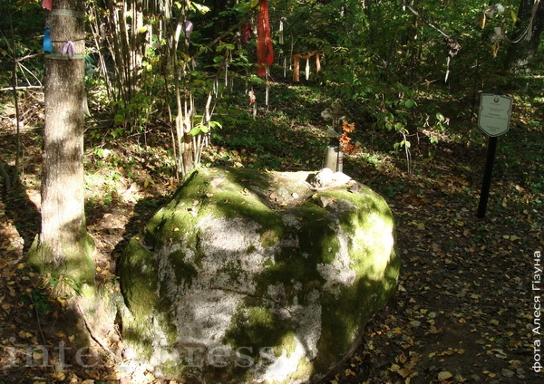 Святы Камень-следавік каля в. Падгорная