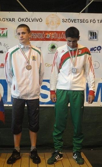 Антон Бернат (слева) в 2011 году  стал победителем на первенстве РБ, бронзовым призером чемпионата Европы среди юниоров  и получил звание мастера спорта