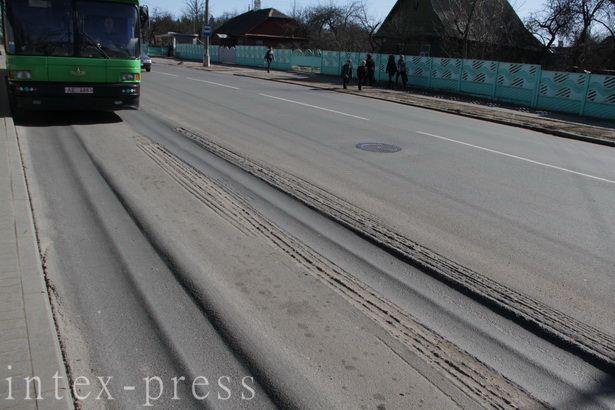 По данным специалистов, как минимум 60% барановичских дорог нуждается в капитальном ремонте