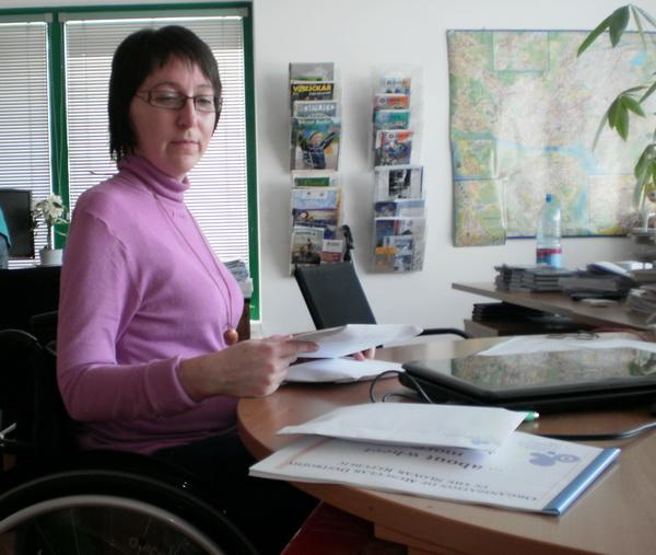 председатель Словацкой ассоциации людей с мышечной дистрофией Андреа Мадунова считает, что люди с ограниченными возможностями обязаны бороться за свои права
