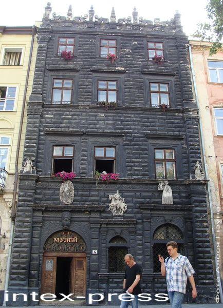 Чорная камяніца-музей у Львове