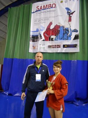 Екатерина Рабцевич оправдала надежды  своего тренера Виктора Богуша