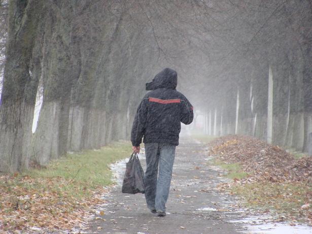 К долгому периоду холодов вновь приходится привыкать и людям...