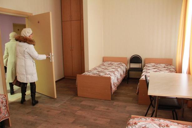 В новом общежитии есть как 2-местные, так и 4-местные комнаты