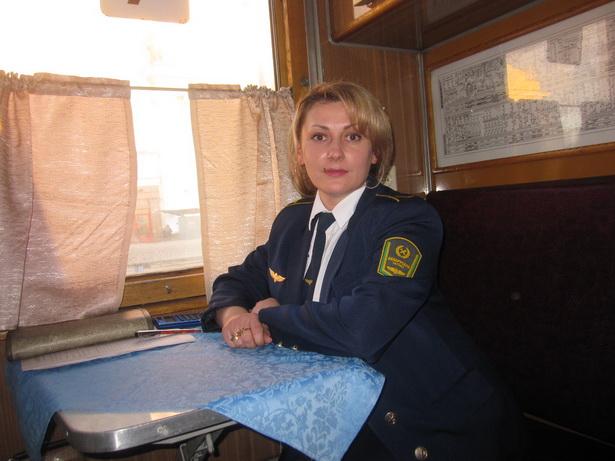 Татьяна Лопух – проводник поезда Брест-Караганды