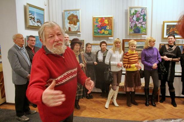 В конце  лета не стало известного барановичского художника Владимира Ромейко