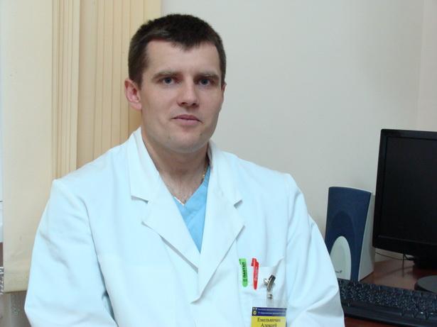 Алексей Емельянчик, врач-травматолог