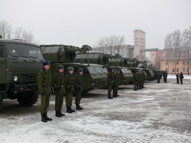 120-я  зенитная  ракетная  бригада – единственная  в  Беларуси, оснащенная  ЗРК «Тор-М2»