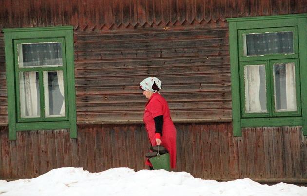 Один день с социальным работником в Барановичском районе. Фото Людмила ПРОКОПОВА/INTEX-PRESS