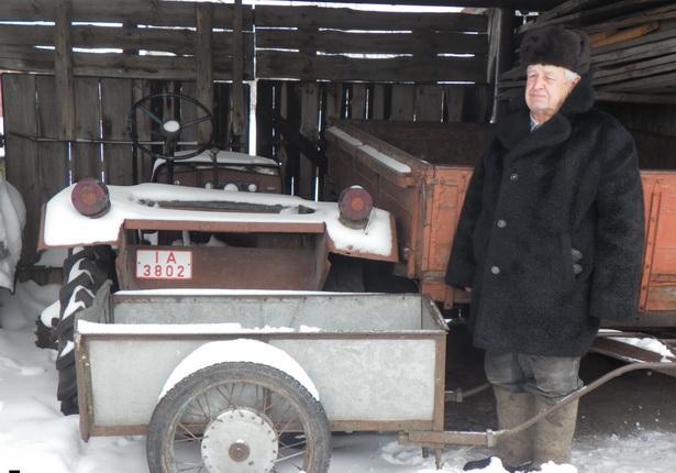 Трактор, сделанный своими руками