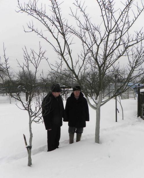 В саду у семьи Воробей