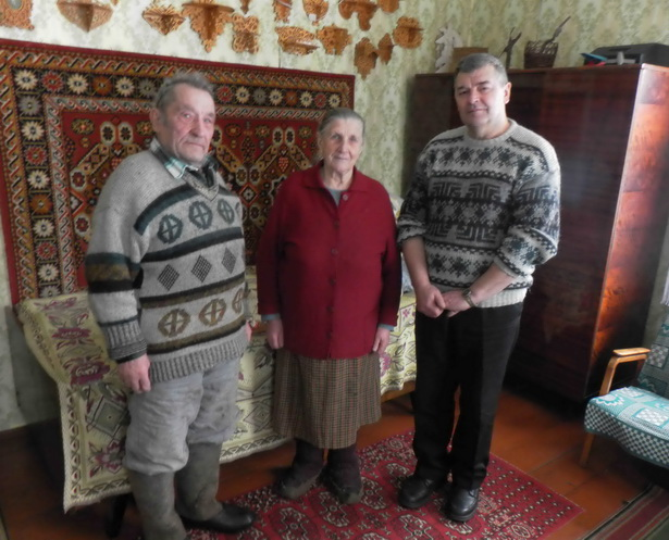 С супругами Щербацевич