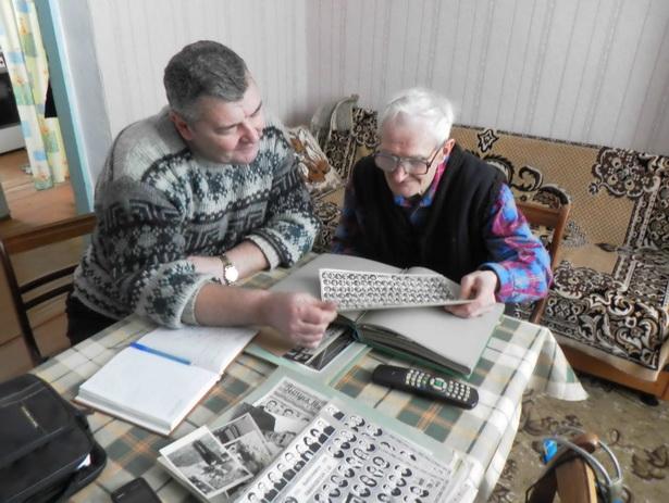 В гостях у Николая Григорьевича Сафроненко