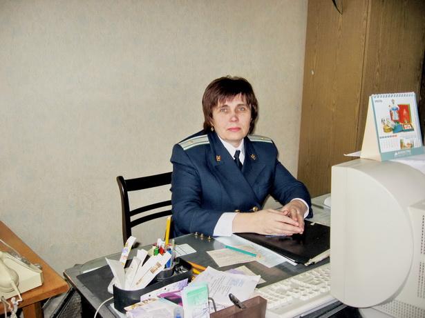 Ольга Лайша, старший помощник Барановичского межрайонного прокурора