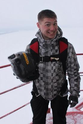 Артем Шалошик,  22 года, в парашютном спорте  семь лет