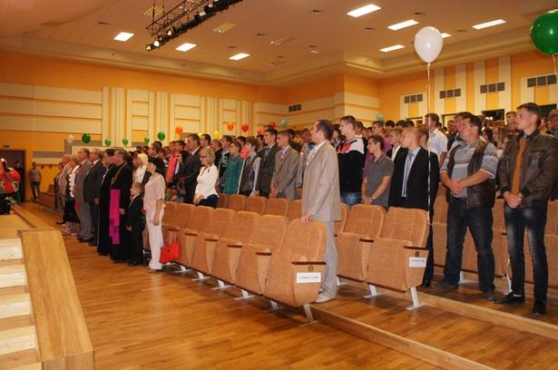 Барановичский университет встретил своих первокурсников. Фото автора