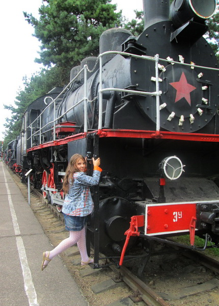 Железнодорожный музей. Барановичи. Фото: Татьяна Некрашевич