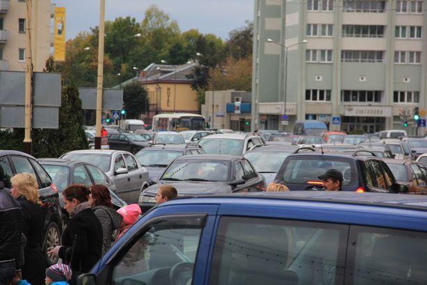 Площадь Ленина, Барановичи. Фото Александр ТРИПУТЬКО