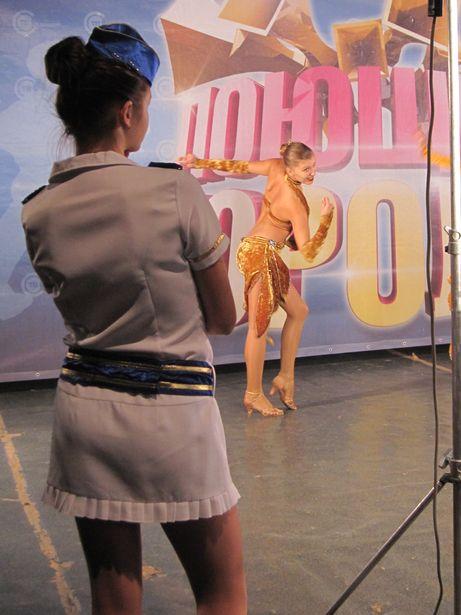 Танцоры будут рассматриваться в конкурсе как дополнение к вокальным номерам. Фото Ольга ШИРОКОСТУП