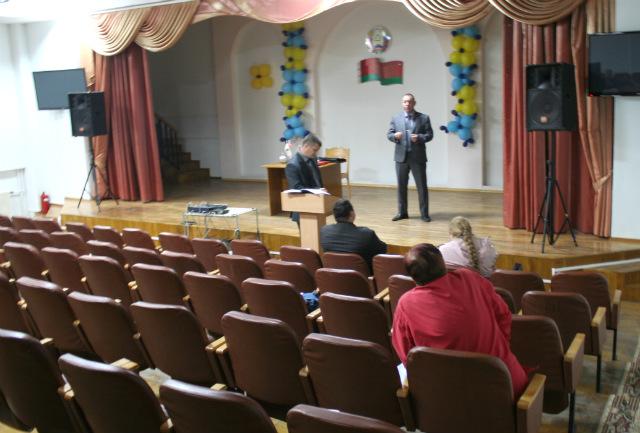 На первом общественном обсуждении реконструкции котельной 12 сентября из жильцов Тексера присутствовали только два человека. Фото Юли Харкевич