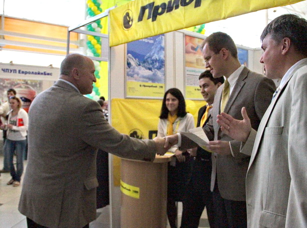 Ежегодная выставка предприятий Барановичская весна 2012
