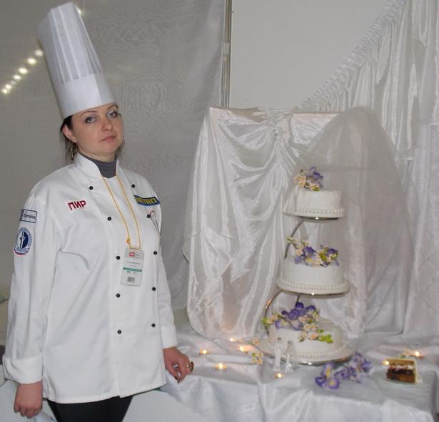 Индивидуальный предприниматель Ольга Рыбалтовская – постоянный участник кондитерских чемпионатов