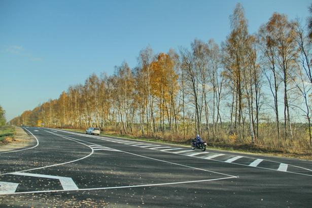 Съезд с дороги Барановичи-Ляховичи на объездную