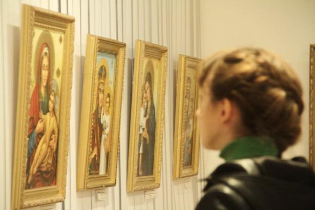 В Барановичах открылась выставка иконописи. Фото Людмила ПРОКОПОВА