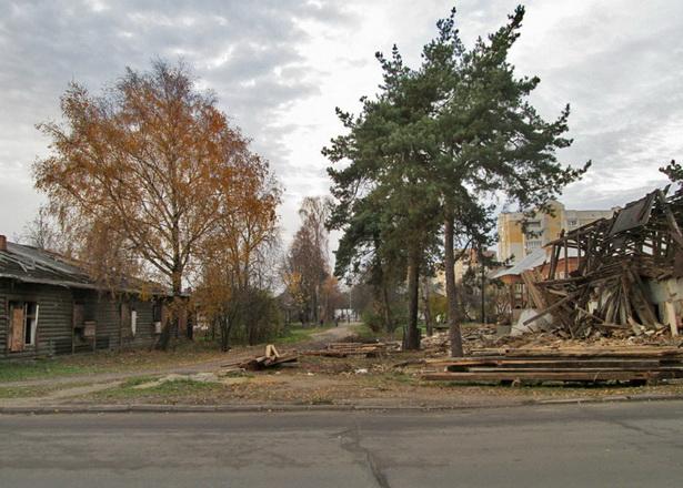 улица Карбышева, октябрь 2013 г.