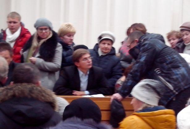 Дебаты предпринимателей и чиновников, большой зал Барановичского райисполкома, 26 ноября