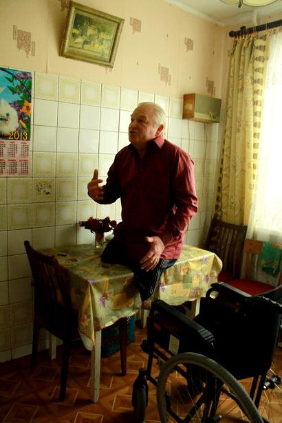 Богуслав Домениковский недавно сделал ремонт на кухне и в комнатах. Фото Фото Intex-press/Людмила Прокопова